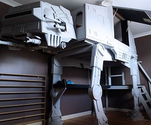 Star Wars AT-AT Bunk Bed