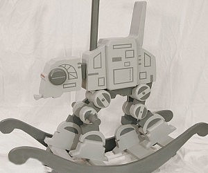 Star Wars AT-AT Rocker Template