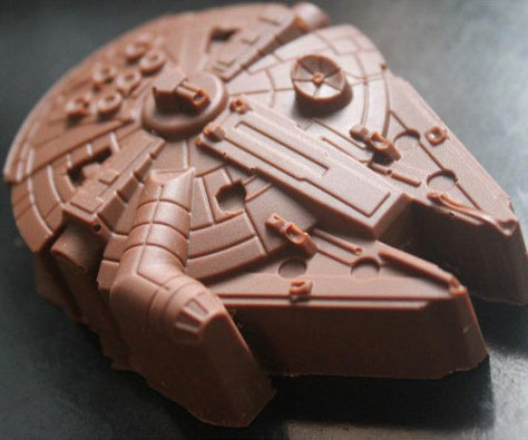 Millennium Falcon Chocolate Mold