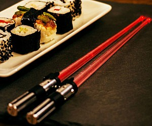 Lightsaber Light-Up Chop Sticks