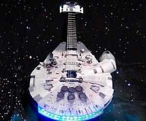 Millennium Falcon Guitar
