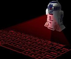R2-D2 Keyboard Projector