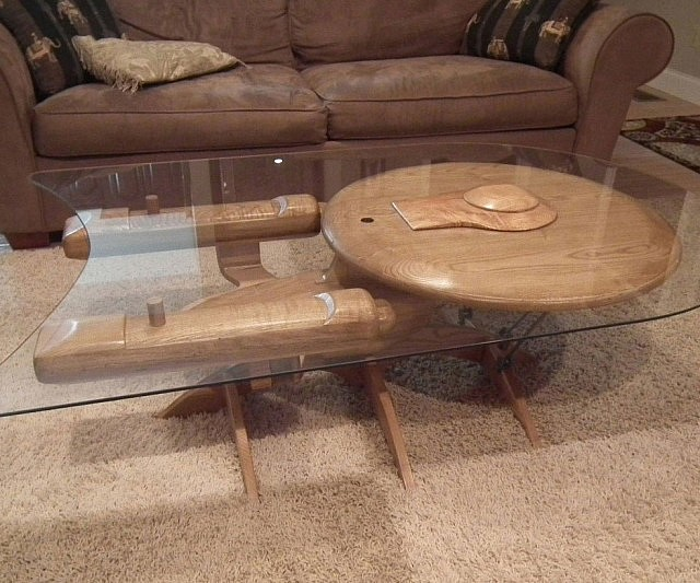 Starship Enterprise Coffee Table