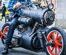 Steam Powered Motorcycle