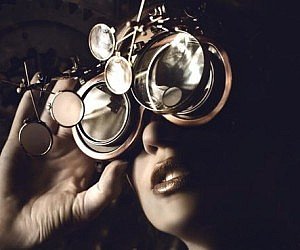 Steampunk Sleepy Hollow Goggles