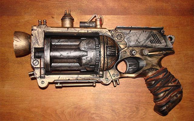 Steampunk Nerf Handgun
