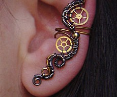 steampunk-wrap-earring