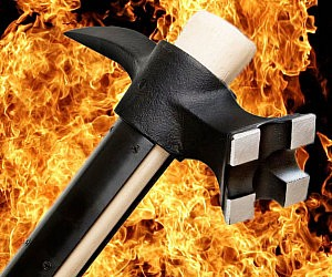 Steel War Hammer