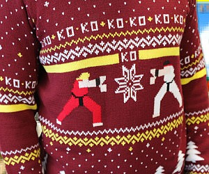 street-fighter-ugly-christmas-sweater