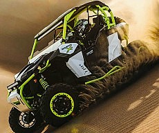 Turbocharged ATV