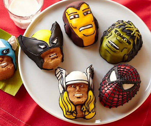 superhero-mini-cake-molds