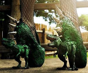 T-Rex Dinosaur Heels