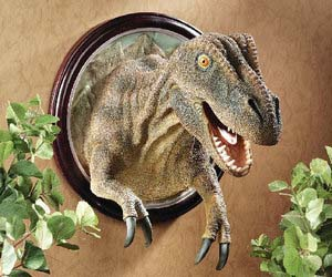 T-Rex Trophy Wall Sculpture
