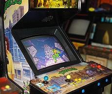 Vintage Ninja Turtles Arcade Machine