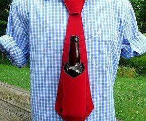 Beer Koozie Necktie