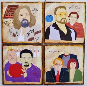 The Big Lebowski Coaster Set