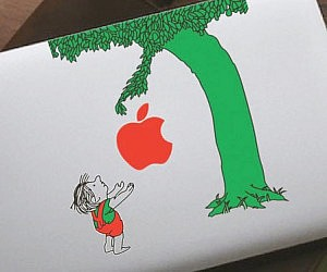 The Giving Tree MacBook Sticker
