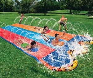 Three Way Slip And Slide Racer
