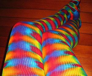 Tie Dye Psychedelic Socks