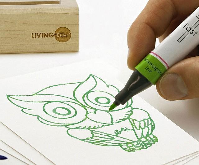 Time Lapse Bio-Ink