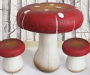 Toadstool Table And Stool Set