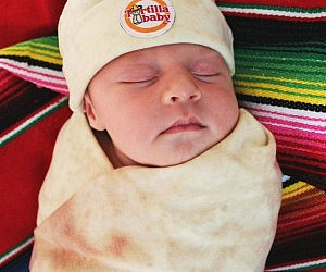 Tortilla Baby Swaddle Blanket