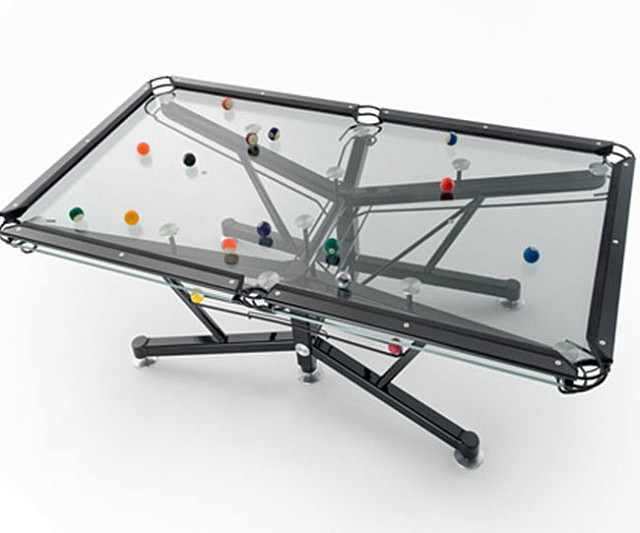Transparent Pool Table
