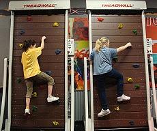Treadmill Rock Climb Machine
