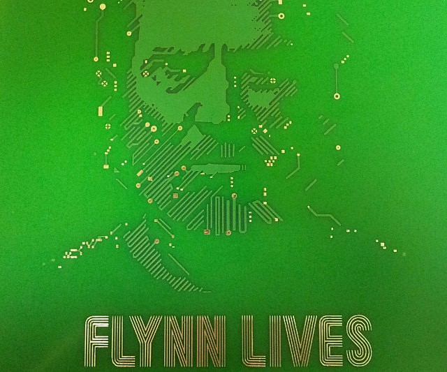 TRON Flynn Lives Circuit Board