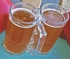 Double Beer Mug