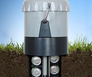 Underground Beer Cooler