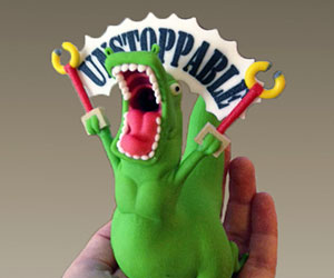 unstoppable-t-rex-figurine
