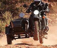 Rugged Sidecar Motorcycle