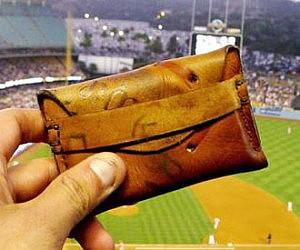 Vintage Baseball Glove Wallet