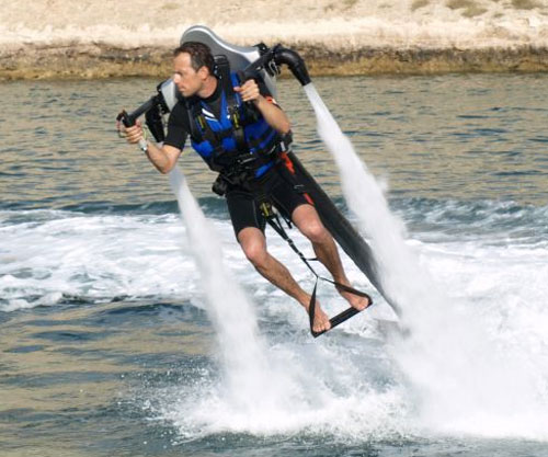 The Water Jet Pack
