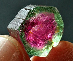 Watermelon Tourmaneline Gemstone