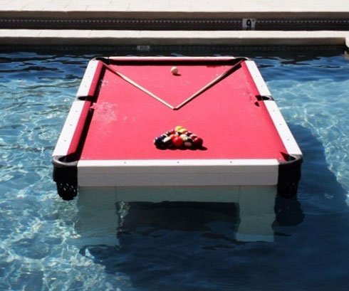 Waterproof Pool Table