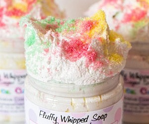 Fluffy Whipped Soap Sugar Scrub