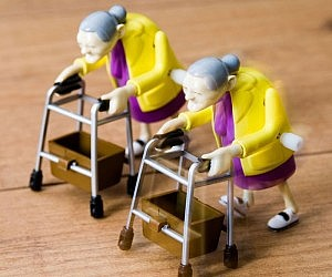 Wind Up Granny Racers