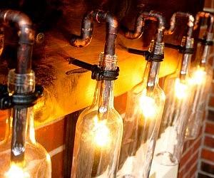 Wine Bottle Light Lamp