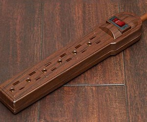 Wood Camouflaging Powerstrip