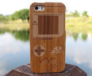 Bamboo Game Boy iPhone Case