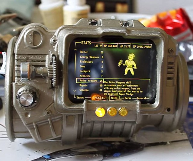 working-pip-boy-3000