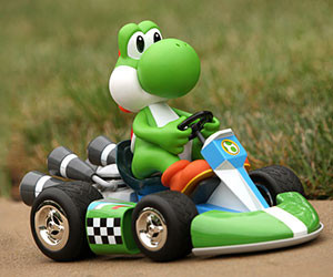 Yoshi Radio Control Mario Kart