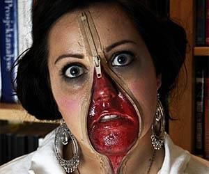 zipper-face-costume