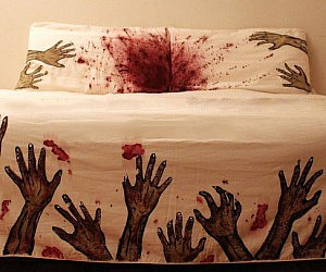 Zombie Attack Bed Covers