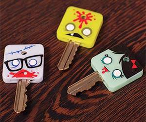 zombie-head-key-covers