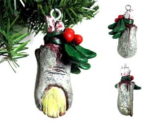 zombie-toe-christmas-ornament